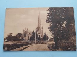 Parish Church SNETTISHAM ( Tuck ) Anno 1945 ( Zie Foto ) - Angleterre