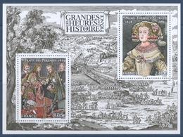 F 5236 Les Grandes Heures De L'histoire De France Faciale 5,20 € - Mint/Hinged