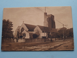LEIGH-on-SEA St. Clement's Church ( J.V. - 78365 / Valentine ) Anno 19?? ( Zie Foto ) - Angleterre