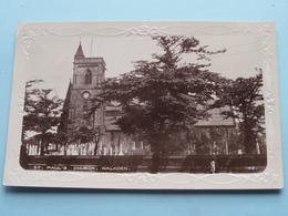 St. Pauls Church WALKDEN ( 198 Chas Wilkinson ) Anno 1949 ( Zie Foto ) - Manchester