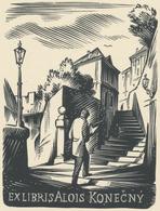 Ex Libris Alois Konecny - Pavel Šimon - Ex-libris