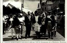 """76-le Canton De  DUCLAIR-serie """"actualites"""" STE-MARGUERITE SUR DUCLAIR Aout 1989 Le Bicentenaire De L  CPSM.G.FROMAGER.. - Francia"""