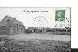 METZ EN COUTURE   GRANDE RUE    MAISONS     DEPT 62 - France