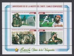 CUBA/KUBA 2019 60° ANIV. DE LA  MUUERTE DEL CMDTE. CAMILO CIENFUEGOS - Cuba