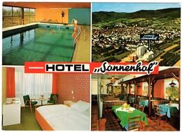 Hotel Sonnenhof Leutershausen Bei Heidelberg 2 Postcards - Germania