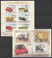 UC105 2008 UNION DES COMORES LES TRANSPORTS POSTAUX KB+BL MNH - Cars
