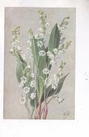 CPA MUGUET No 67 (par Millot) En 1923! - Fleurs