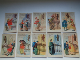 "Beau Lot De 10 Cartes Postales De Fantaisie "" Manneken Pis ""      Mooi Lot 10 Postkaarten Van Fantasie   -  10 Scans - Postkaarten"