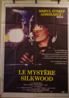 AFF CINE ORIG LE MYSTERE SILKWOOD (1983) 120x160cm Meryl Streep Cher Kurt Russel - Plakate & Poster