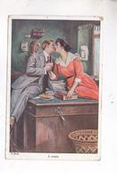 CPA ILLUSTREE COUPLE En 1921 ! - Phantasie