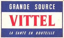 VP-GF.19-RO 024 : BUVARD. GRANDE SOURCE EAU DE VITTEL VOSGES. - Löschblätter, Heftumschläge