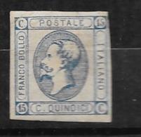 Italie N° 11a   Neuf (* )    B/TB  Soldé      Le Moins Cher Du Site ! ! ! - 1861-78 Victor Emmanuel II.