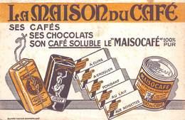 VP-GF.19-RO 032 : BUVARD. LA MAISON DU CAFE  MAISOCAFE . CAFE GRIFF. - Löschblätter, Heftumschläge