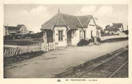 CPSM 56 Morbihan Penthièvre La Gare - Other Municipalities