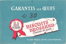 VP-GF.19-RO 039 : BUVARD. BISCUITS BROSSARD - Löschblätter, Heftumschläge
