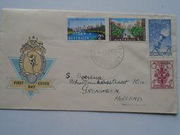 ZA249.23  Australia  Cover FDC Post Office Communications - Olympia Melbourne Stamps  1956 - Estate 1956: Melbourne