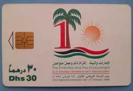 UAE United Arab Emirates 30 Dhs First National Environment 4 February 1998 - Verenigde Arabische Emiraten
