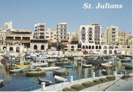MALTE---MALTA---st-julians---spinola Bey--voir 2 Scans - Malta