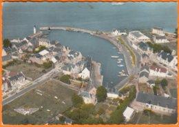 "56  PORT HALIGUEN EN QUIBERON Morbihan  "" Vue D'ensemble ""  CPSM  Num 38   LA FRANCE VUE DU CIEL...  Non écrite - Quiberon"