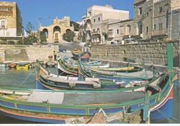 MALTE---MALTA---st-paul's Bey--fishing Harbour---voir 2 Scans - Malta