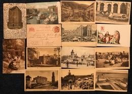Belgique Fantaisie Algérie Waterloo Censure ... Un Peu De Tout : 62 Cartes (voir Zie See Scans) - Postkaarten