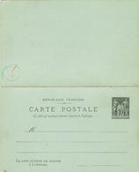 ENTIER SAGE NEUF CARTE REPONSE - Cartes Postales Types Et TSC (avant 1995)