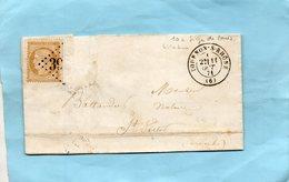 N° 36 (siège) Sur L.A.C. De TOURNON (6) à St VICTOR Le 11/10/71. - 1849-1876: Klassik