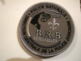 ECUSSON POLICE NATIONALE PARIS LA DCPJ BRB DE VERSAILLES SUR VELCROS - Police