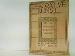 Dekorative Kunst - Das Bremer Landhaus Auf Der Deutschen Gewerbeschau In München (Zwei Tafeln Und 25 Abbildung - Bücher, Zeitschriften, Comics