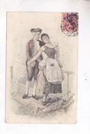 CPA ILLUSTREE COUPLE En 1904! - Phantasie