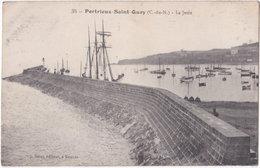 22. PORTRIEUX-SAINT-QUAY. La Jetée. 35 - Saint-Quay-Portrieux