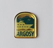 Pin's Bateau ARGOSY - PA/CE - Barcos