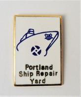 Pin's Portland Ship Repair Yard - Bateau - PA/CE - Barcos