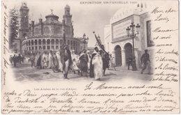 75. PARIS. Exposition Universelle 1900. Les Arabes De La Rue D'Alger - Expositions