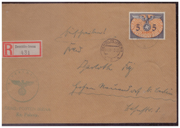 GG (007777) Einschreiben Mit DM MNR 15 Gelaufen Am 11.12.1940 Demblin/ Gr. Posten Irena Mit Dienststempel - Besetzungen 1938-45
