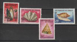 Cote Des Somalis 1962 Série 311 à 314 4 Val Neuf ** MNH - Neufs