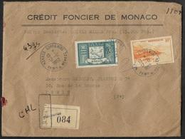 Monaco-Enveloppe De Monaco En Valeur Déclarée - Monaco