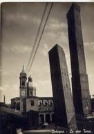 Bologna - Le Due Torri - Formato Grande Viaggiata Mancante Di Affrancatura – E 14 - Bologna