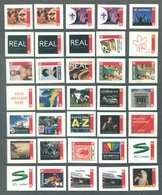 NZ  - MNH/** - LOT OF 64 PERSONALISED STAMPS - Lot 20755 - VALUE AUD 34.60 - Nieuw-Zeeland