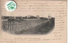 77 - Très Belle Carte Postale Ancienne De LIZY SUR OURCQ   Station  Gare Aux Marchandises ( Dos Simple )1903 - Lizy Sur Ourcq