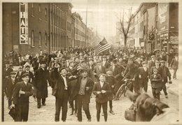 USA STRIKE 17*13CM Fonds Victor FORBIN 1864-1947 - Fotos