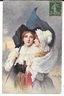 Cpa Illustrateur Léon Hornecker / La Patrie Retrouvée + Pub E. Coudray , Paris . (verso). - Patriottisch
