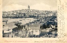 Turquie - Souvenir De Constantinople - Pont De Galata - Turkey