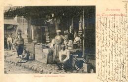 Turquie - Souvenir De Constantinople - Boutiques Et Marchands Turcs - Turkey
