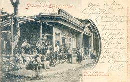 Turquie - Souvenir De Constantinople - Café Turc - Turkey