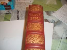 La Sainte Bible Par Le Chanoine Crampon - Religión