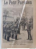 1899 MEAUX - 4ème HUSSARDS - CLASSE 1896 - LE SALUT AU DRAPEAU - Livres, BD, Revues