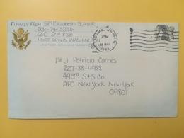 1983 BUSTA INTESTATA STATI UNITI UNITED STATES U.S. BOLLO PECORA OVIS ANNULLO OBLITERE' TACOMAWA - Stati Uniti