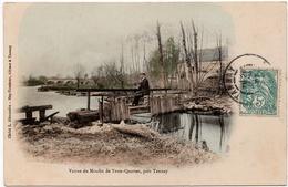 Moulin De Trois-Quartes, Près De Tannay : Les Vannes (Cliché L. Alexandre - Hay-Tambour) - France
