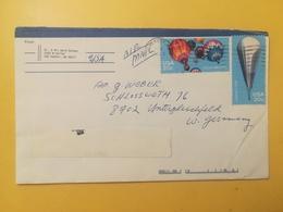 1983 BUSTA STATI UNITI UNITED STATES U.S. BOLLO BALLOONS MONGOLFIERE ANNULLO OBLITERE' EVERETT - Stati Uniti